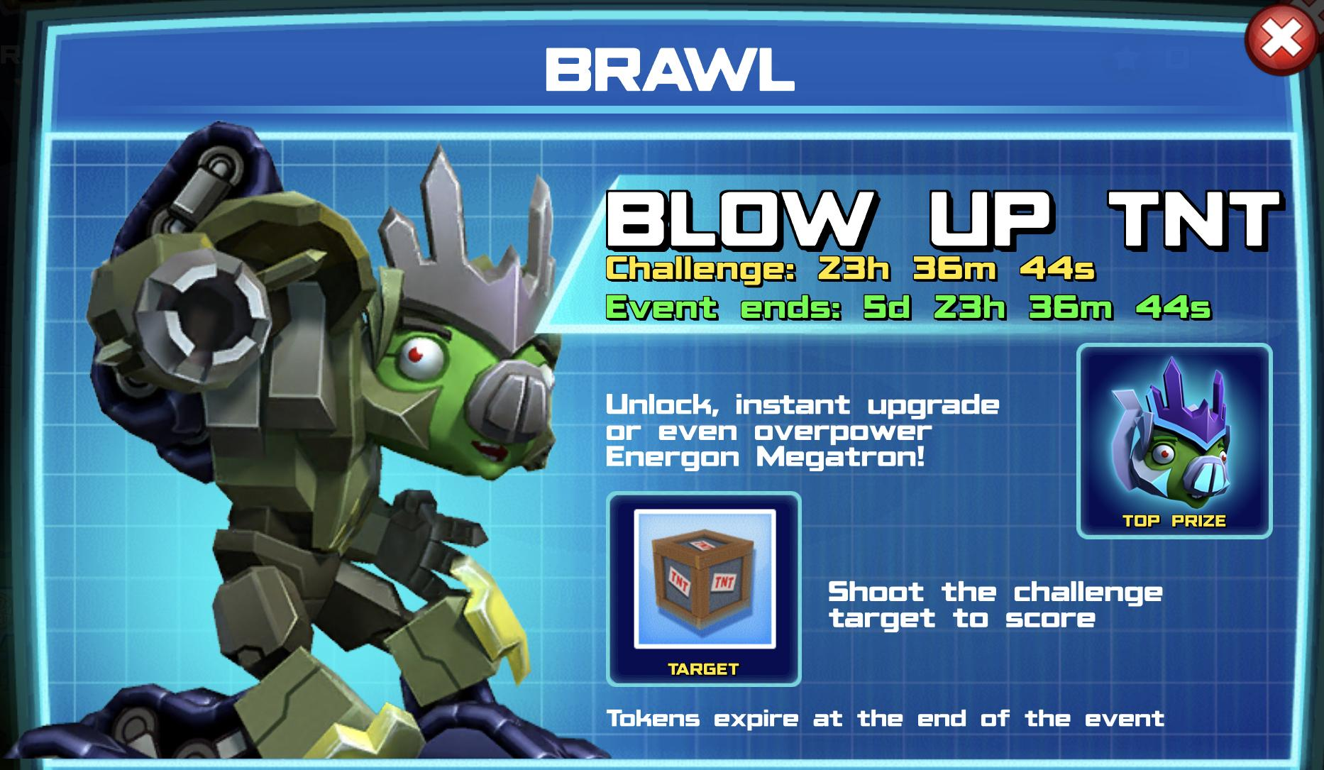 The event banner for Brawl