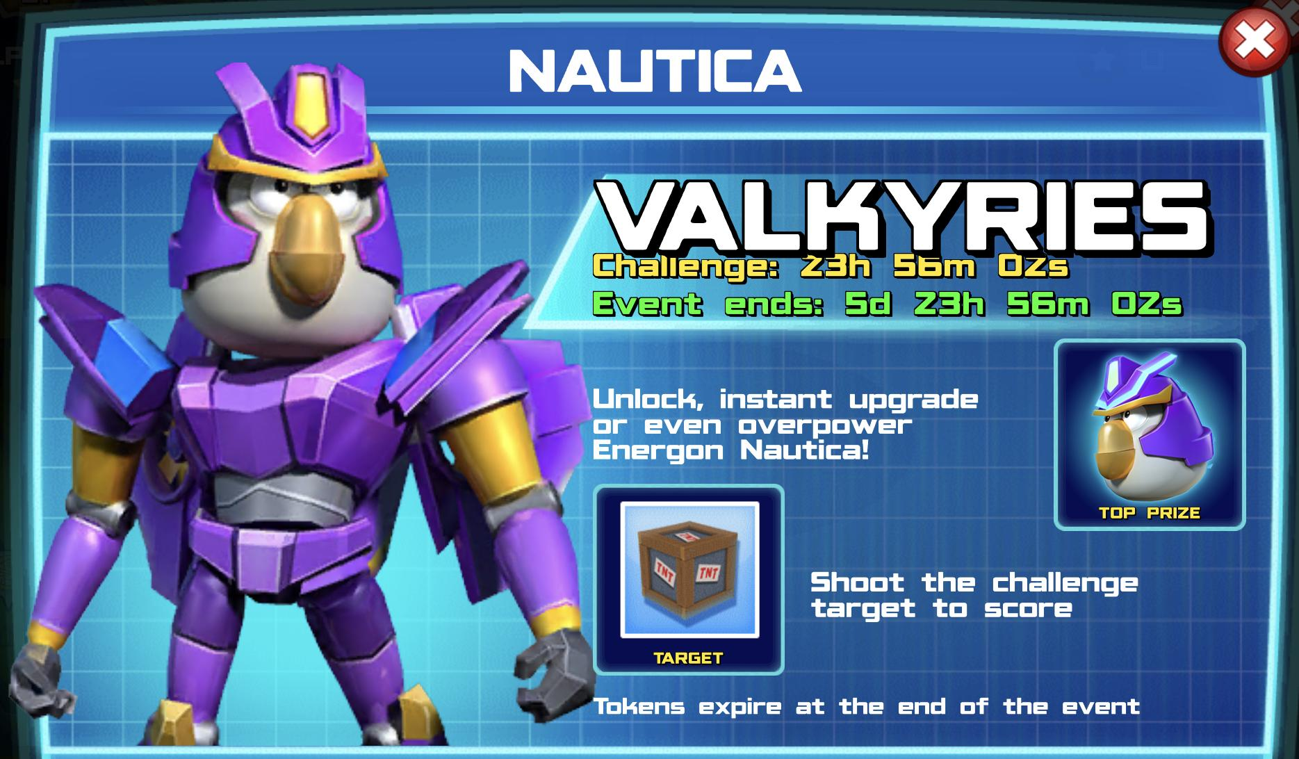 The event banner for Nautica