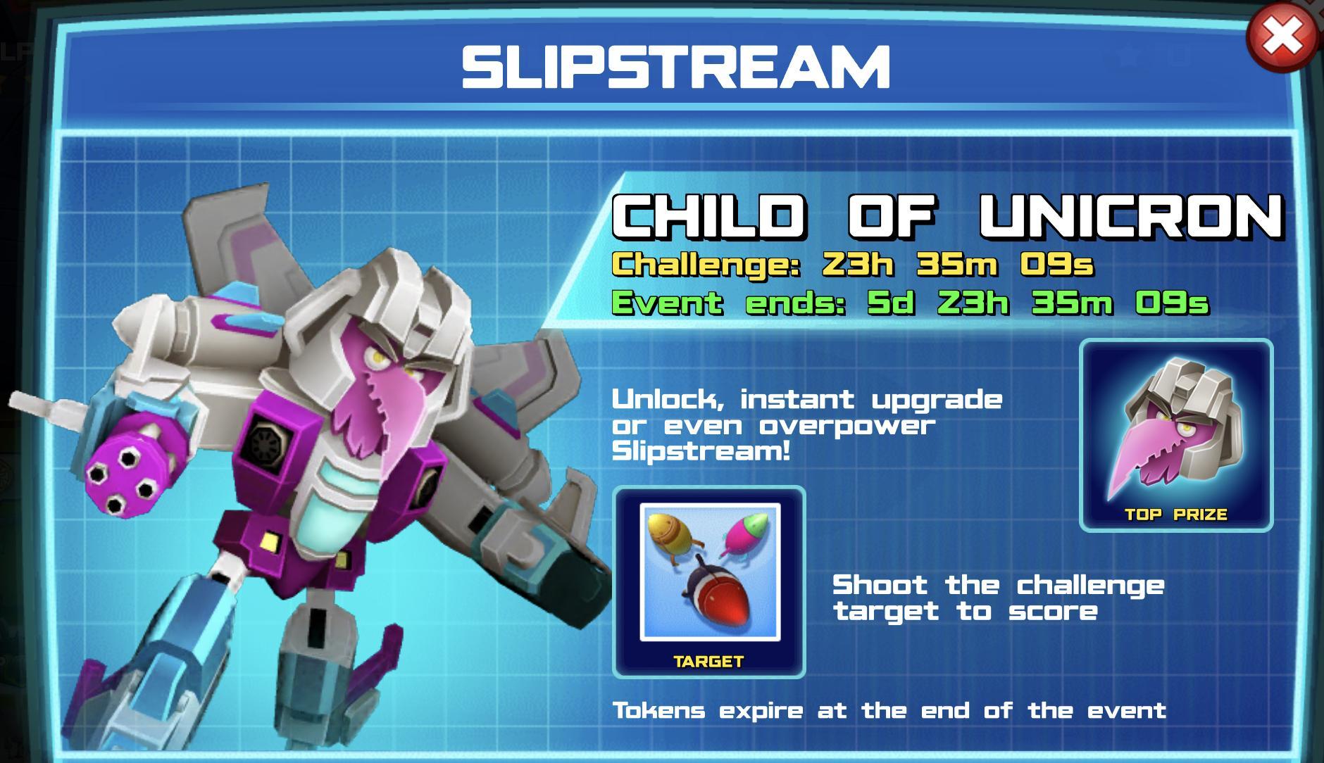 The event banner for Slipstream