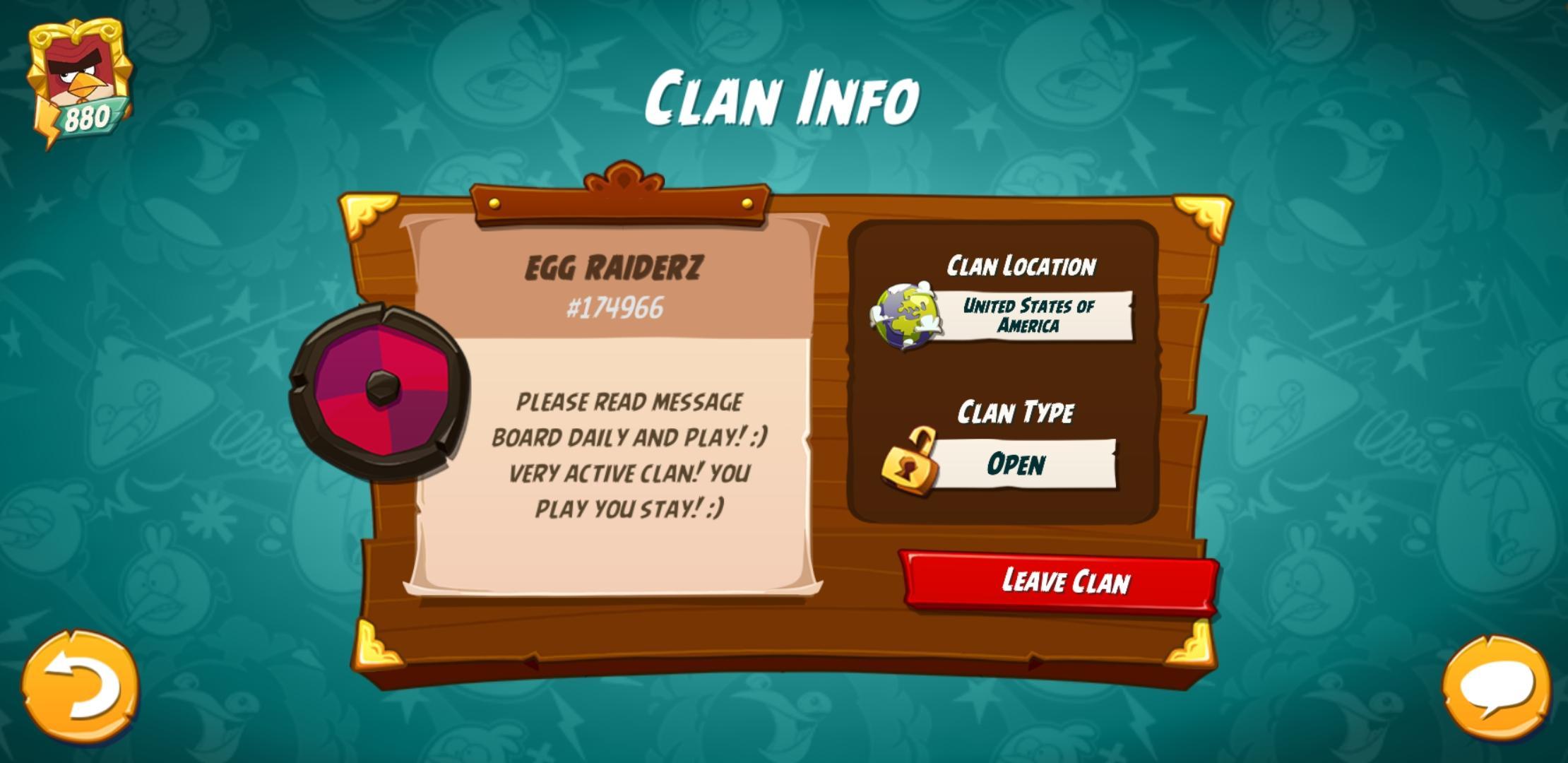 Clan info