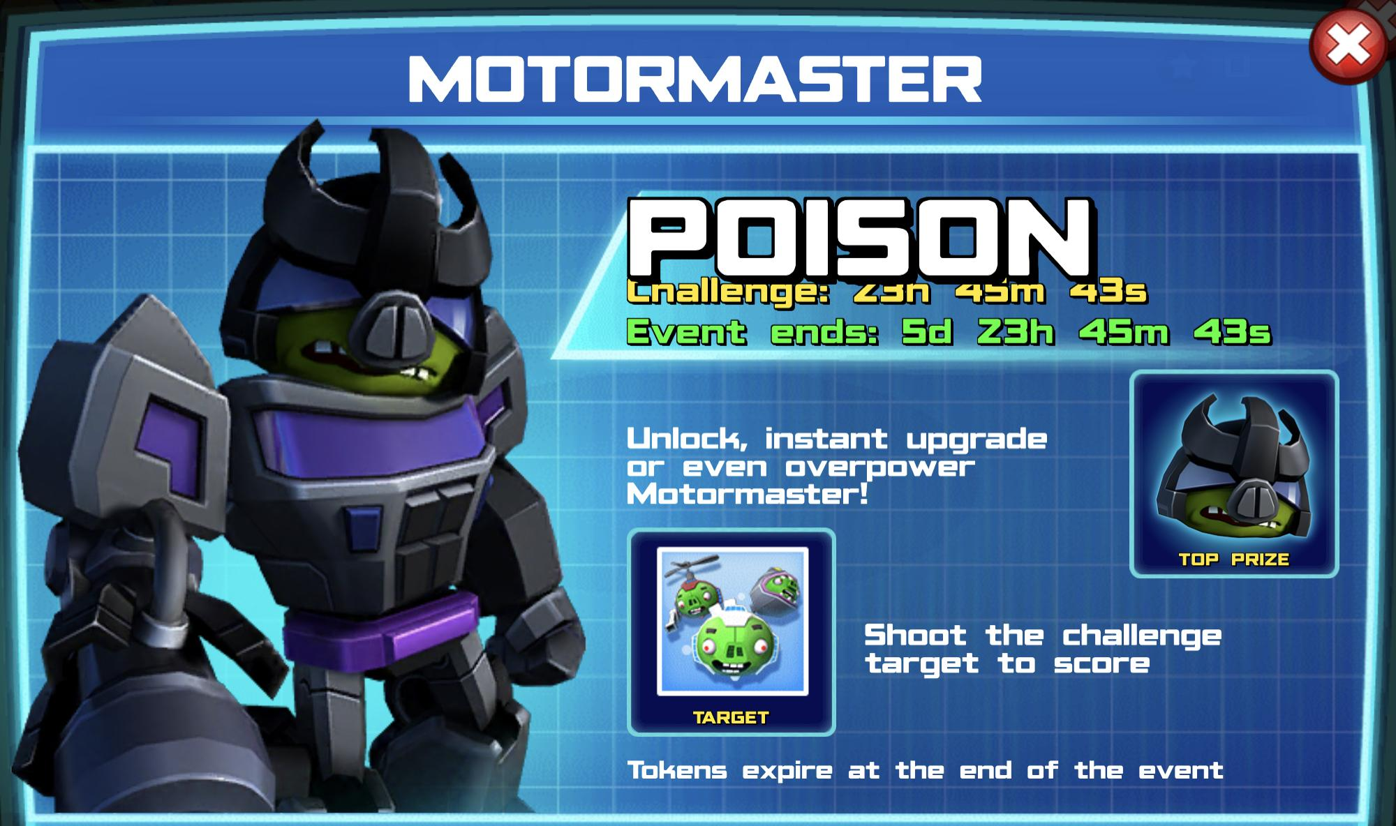The event banner for Motormaster